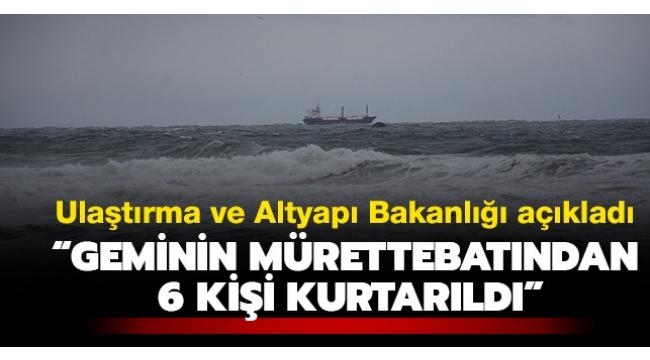 Son dakika haberler... Bartın'da Palau bayraklı kuru yük gemisi battı!