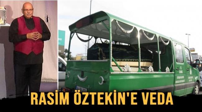 Rasim Öztekin'e veda... Usta oyuncu son yolculuğuna uğurlandı