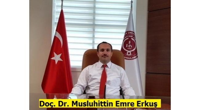 Doç. Dr.Musluhittin Emre ErkuşManisa il sağlık müdürlüğüne, atandı