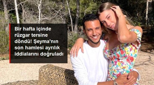 Takipten çıktı, fotoğrafları sildi! Şeyma Subaşı ve Mohammed Alsaloussi aşkı bitti