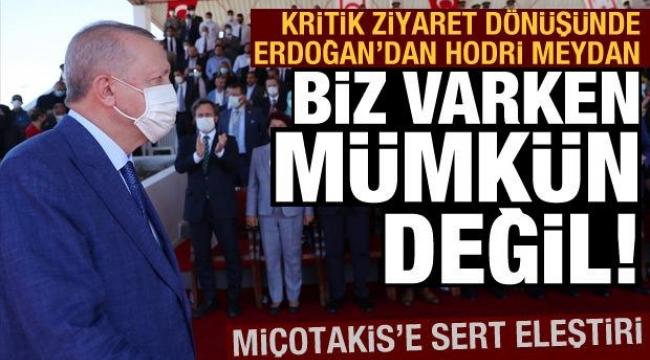 Bu ziyaretKıbrısTürklerine büyük moral