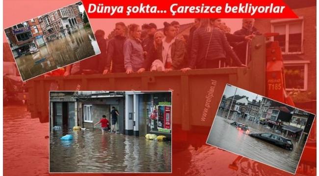 Son dakika haberler: Avrupa'da büyük felaket! 170'den fazla ölü..