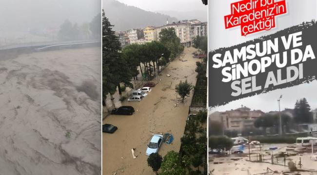 Son dakika:BartınSinop Kastamonu ve Samsun'da sel felaketi! Hastane tahliye edildi, yollar çöktü, köprüler yıkıldı...