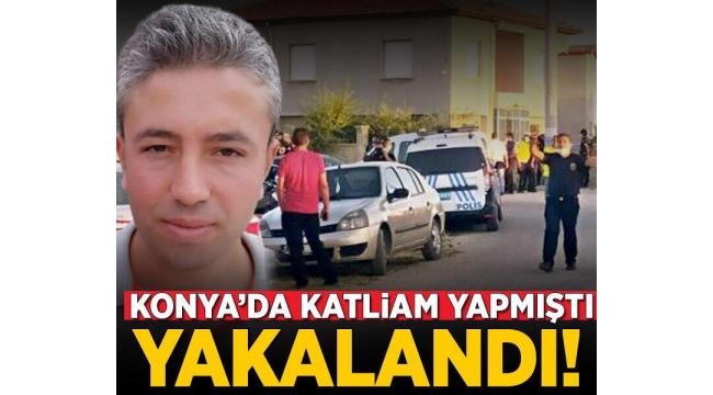Son dakika:Konyakatliamının failiMehmet Altun, Bozkır ilçesi kırsalında yakalandı